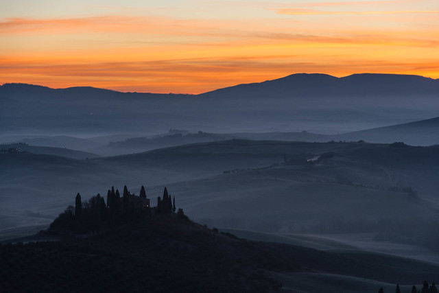 Today morning in Val d'Orcia [EXPLORE]