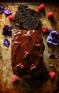 Triple Chocolate Avocado Bread- Gluten Free and Vegan from HeatherChristo.com | by Heather Christo