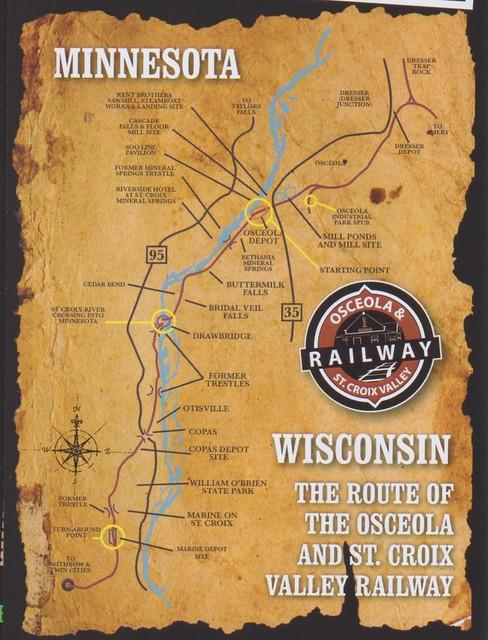 Osceola and St Croix 2015 Map