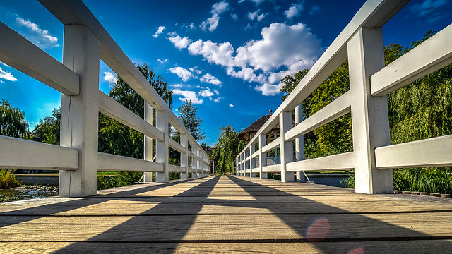 Bootssteg   Landing stage :: Max Liebermann Villa - Wannsee - Berlin Germany