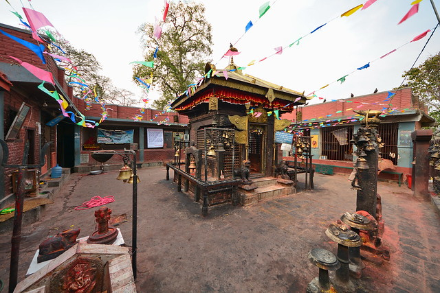 Nepal - Bungamati - Karya Binayak Temple - 3