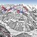 Mapa Mayrhofen - Penken Rastkogel Eggalm