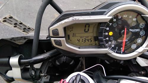 41345 miles on 2013 TEX | by [soksa]icy