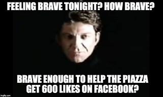 Feeling brave tonight? | by David Shepheard