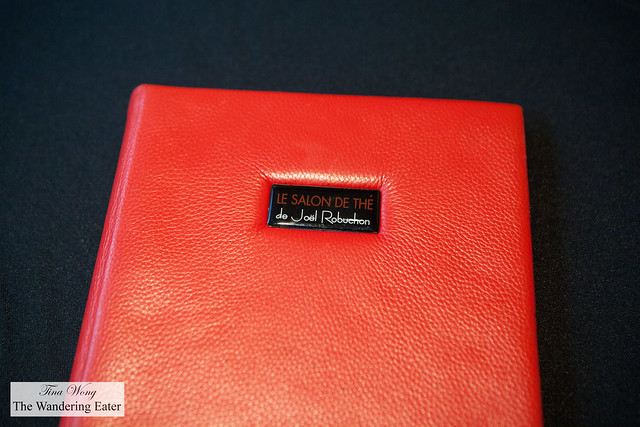 Menu cover of Le Salon de Thé de Joël Robuchon