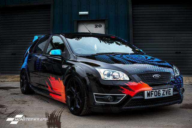 Ford Focus ST WRC Printed wrap