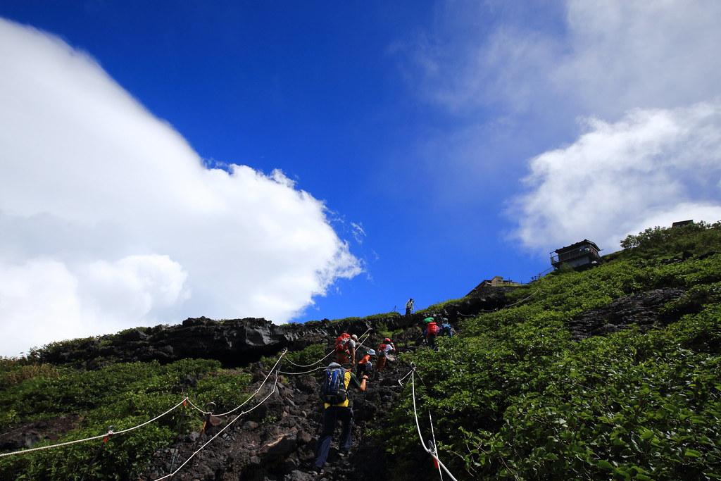 Mount Fuji trekking