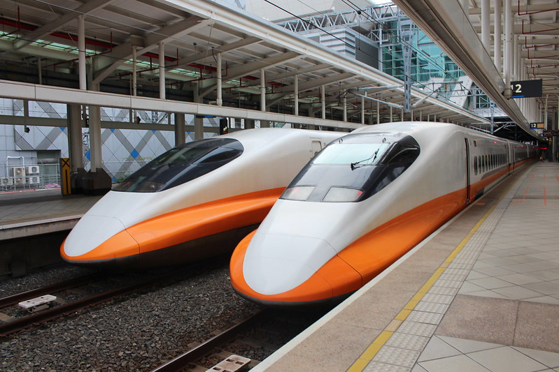 台灣高鐵列車 Taiwan High Speed Rail