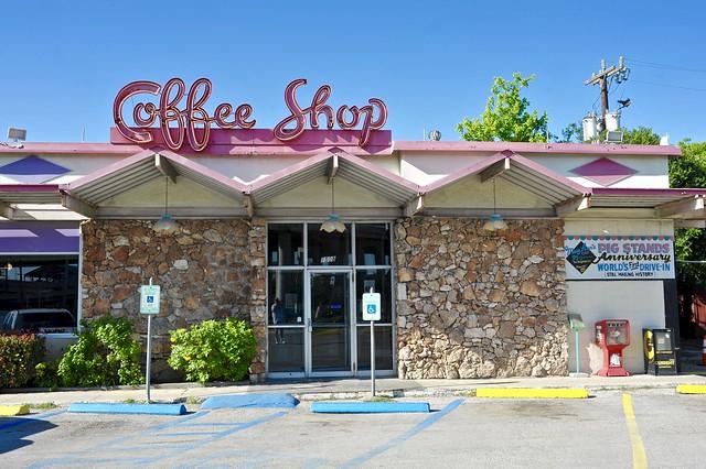 Pig Stand Restaurant/Coffee Shop - San Antonio,Texas