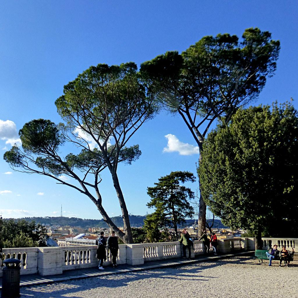 Roma Terrazza Del Pincio Pom Flickr