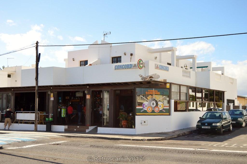 Terraza El Concord Bar Playa Honda Lanzarote Spain 10