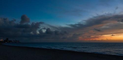 southpointebeach beachscape sunrise colors clouds beach miamibeach sobe seashore seascape blue walking walkingaround waterways urban urbanexploration outdoors tourism earlyinthemorning
