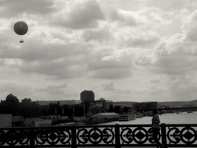Paris en montgolfière Paris in ballooning