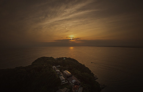 ocean sunset sea sky cloud canon eos evening boat 5d enoshima mark3