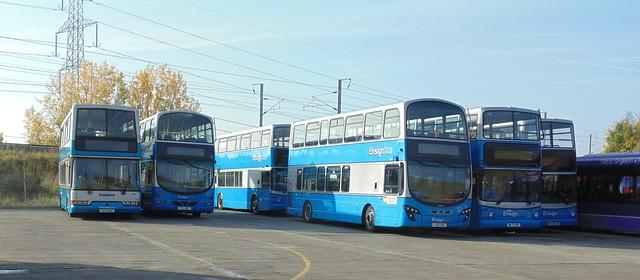 Ensignbus double decker varity