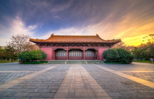 china old winter sunset sky cloud building nature architecture square twilight ancient nikon dusk traditional sigma palace spot imperial nanjing hdr dynasty 1224 d800 sigma1224mmf4556 nikond800