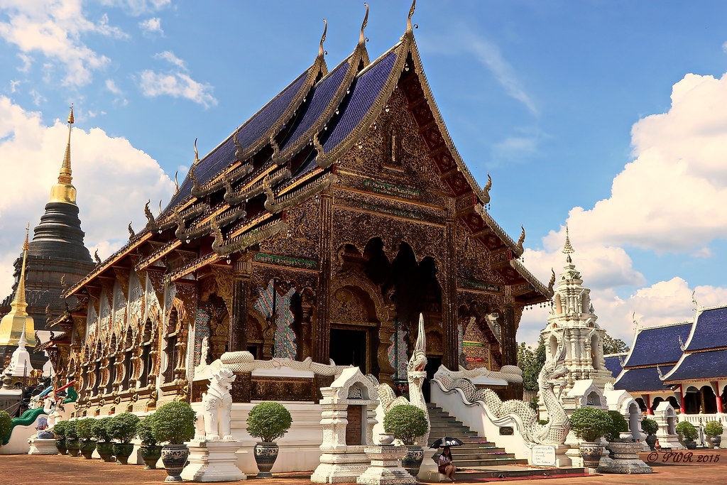 Wat Ban Taen 2015 วัดบ้านเด่น