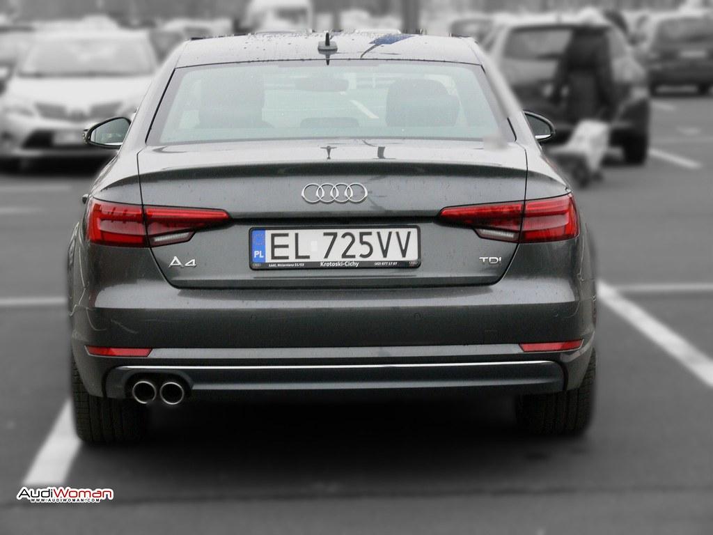 Wszystkie nowe A4 tył | audiwoman.com - Audi A4 B9 | Audi Woman | Flickr LC76