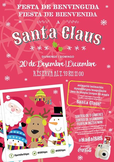 Santa Claus en Sports Bar Sitges