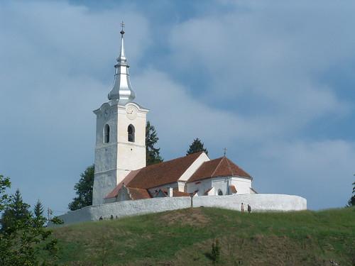 románia romania transylvania erdély szárhegy lăzarea épület building műemlék sightseeing templom church