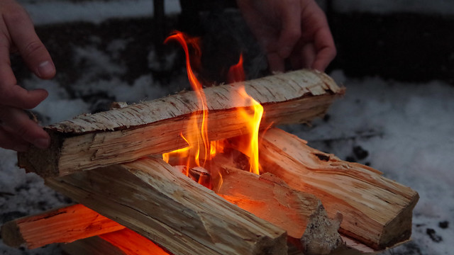 Skillful fire making