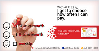 AUB Easy MasterCard_Banner Ad 5 | by martinandrade08