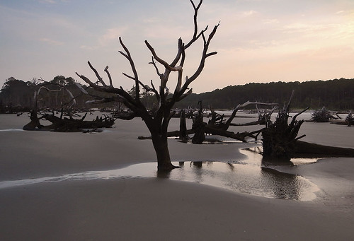 ocean sunset beach landscape nikon southcarolina magichour huntingislandsc huntingislandsouthcarolina
