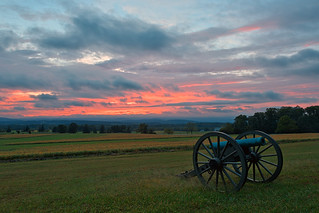 Gettysburg Cannon Sunset - HDR | by Bold Frontiers