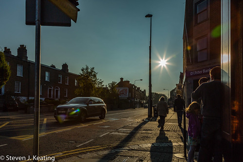 street morning ireland dublin skyline sunrise early ranelagh