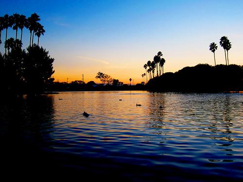 california sunset usa lake thehills alondrapark theweeknd