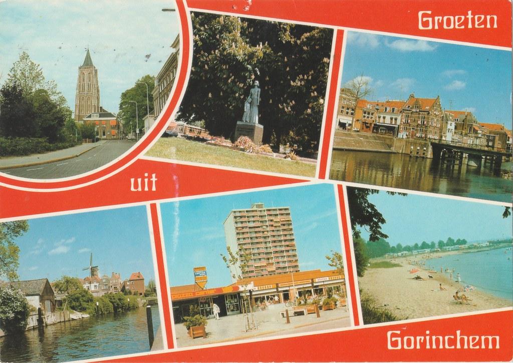 Ansichtkaart Groeten Uit Gorinchem Uitg Frans Mulder Gor Flickr
