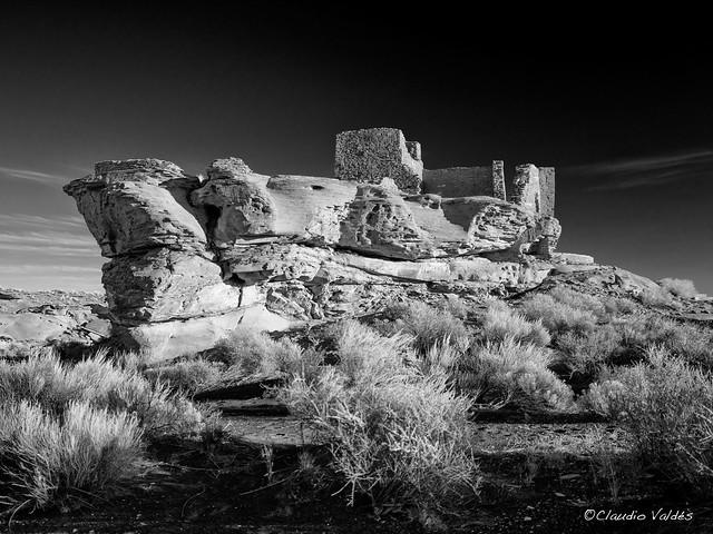 Wukoki Pueblo at First Light