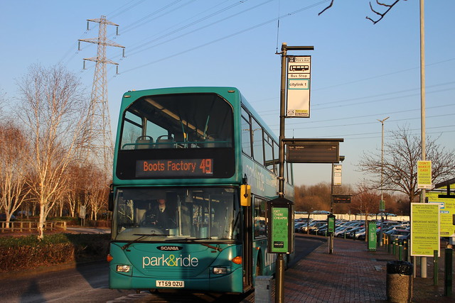Nottingham City Transport 977