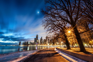 Cold Path to the Skyline | by ShutterRunner