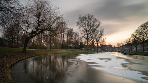 haarlem noordholland northholland netherlands nederland holland dutch europe sony a7rii ilce7rm2 alpha mirrorless 1635mm sonyzeiss zeiss variotessar fullframe mcquaidephotography adobe photoshop lightroom tripod manfrotto light licht availablelight sunset zonsondergang water longexposure stad city urban canal gracht kinderhuissingel waterside lowlight outdoor outside waterfront cityscape winter nd neutraldensity 6stop ndfilter bwfilters cold koud ice freezing ijskoud frost frosty 169 widescreen panoramic reflection tree kenaupark wideangle groothoek weather weer