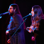 Wed, 08/02/2017 - 9:02pm - Flo Morrissey and Matthew E. White perform for WFUV Members at City Winery in New York City, 2/8/17. Hosted by Rita Houston. Photo by Gus Philippas.