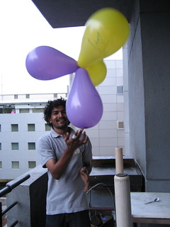 """Given enough balloons, one can get high"" -- Gopal V 