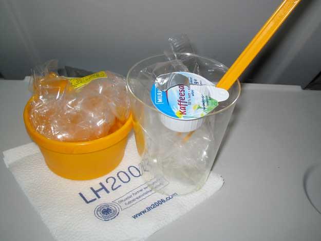 Lufthansa Breakfast (After)