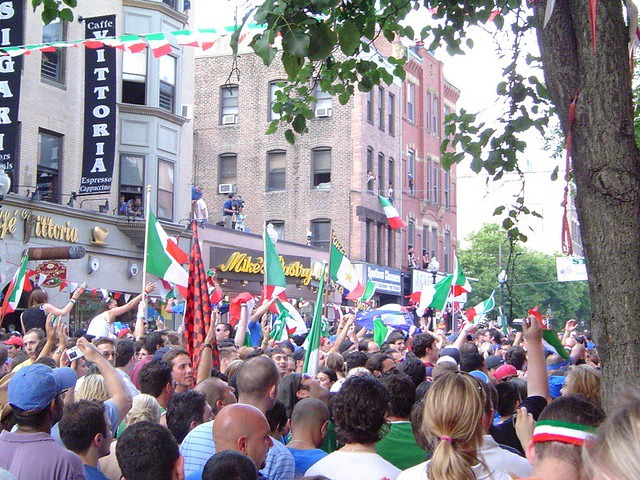 world cup parade in the north end