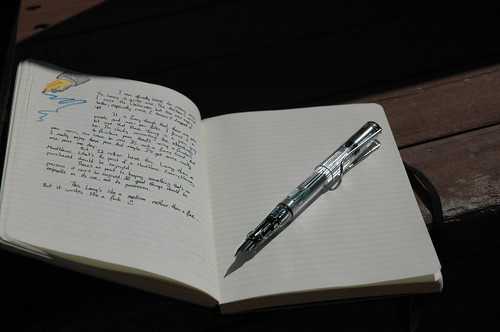 Testing out the new Lamy | by churl