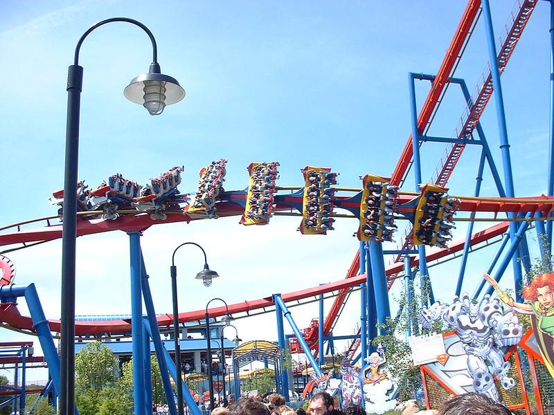 Superman Ultimate Flights @ Six Flags Great America (2006)