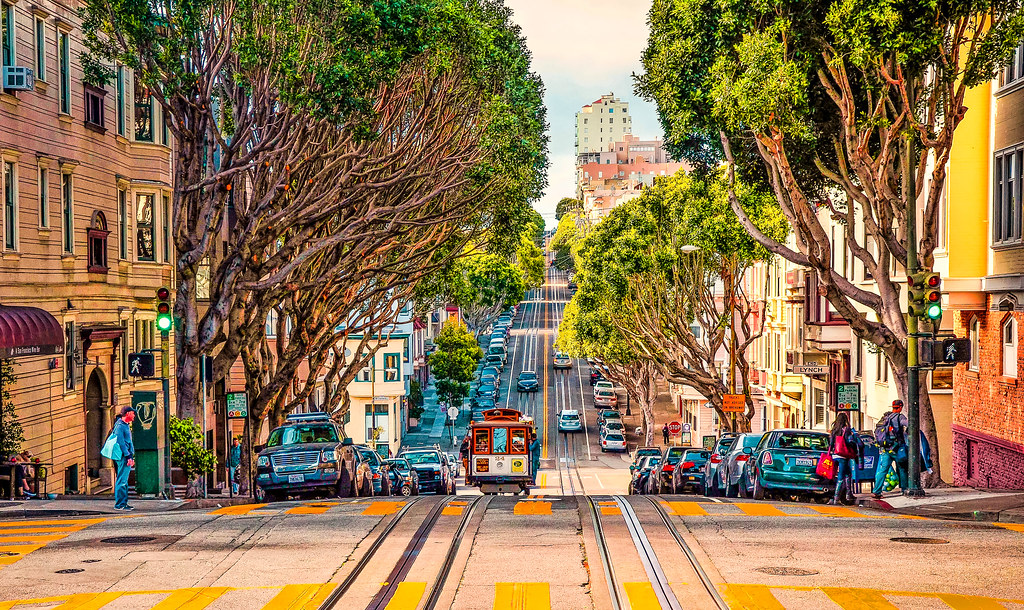 In San Francisco....... best places to visit in USA in December