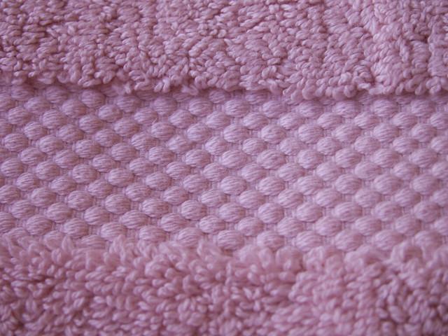 pink towel band