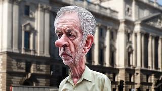 Jeremy Corbyn - Caricature   by DonkeyHotey