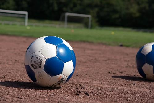Soccer Ball Blue