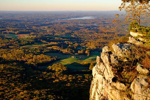 statepark park morning autumn mountain fall dawn us nc rocks unitedstates state north northcarolina carolina fujifilm farms pilot pinnacle pilotmountain xf35 pilotmountainstatepark xt10