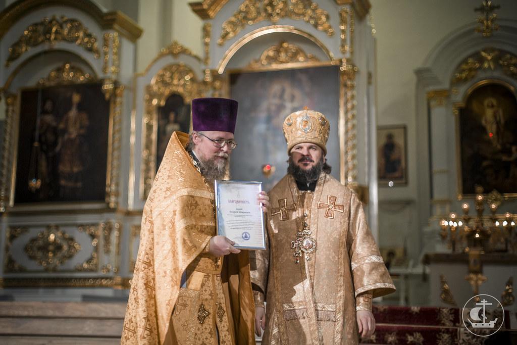 8 декабря 2016, Литургия в Смольном соборе / 8 December 2016, Divine Liturgy in the Smolny Cathedral