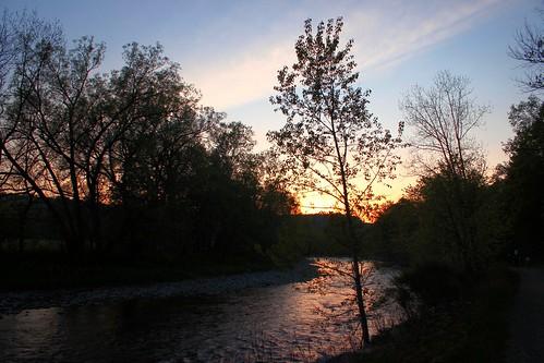 sunset camp canada tree canon river spring quebec estrie adil jamai coaticook rebelt3i
