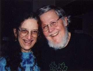 Dick and Martha, April 2002 1