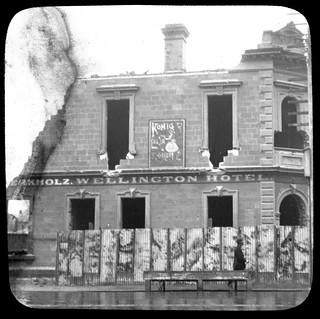 Wellington Hotel, Currie Street, 1917